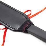Пэдл плетка хлыст стек флогер шлёпалка  со шнуровкой, фото 3