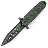 Нож Dragon Dagger Flipper Blackwash, фото 2