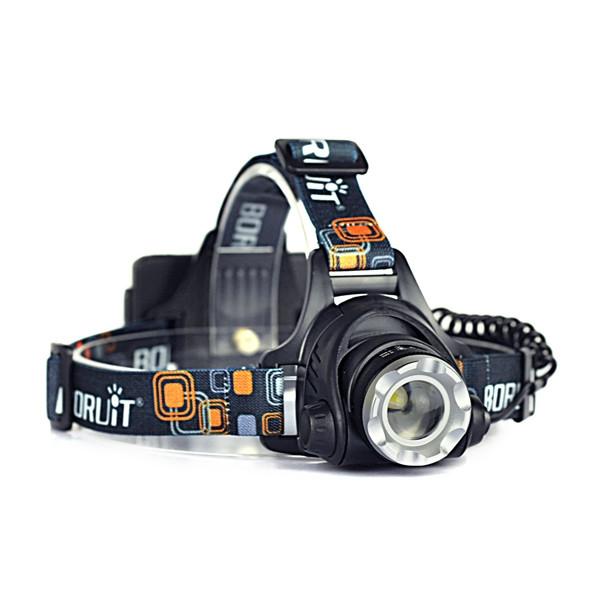 Налобный фонарь фокусируемый Boruit 2181F (T6)