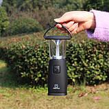 Динамо-лампа на солнечных батареях Aotu, фото 5
