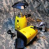 Многофункциональная динамо-лампа с радиоприемником, фото 4