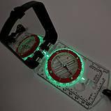 Планшетный компас с зеркалом NatureHike NH15A003, фото 2