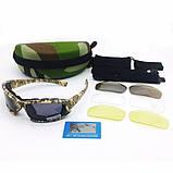 Тактические очки Daisy X7 (4 комплекта линз), фото 2