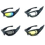 Тактические очки Daisy C6 (4 комплекта линз), фото 3