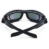 Тактические очки Daisy C6 (4 комплекта линз), фото 6