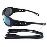 Тактические очки Daisy C6 (4 комплекта линз), фото 10