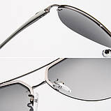 Солнцезащитные очки авиаторы Leilin Aviator Polarized, фото 7