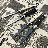 """Нож AGA Campolin 9"""" Picklock CURVED Automatic Italian Stiletto (Replica), фото 2"""
