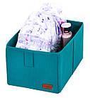Ящик-органайзер для хранения вещей M (лазурь), фото 4