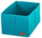 Ящик-органайзер для хранения вещей M (лазурь), фото 3