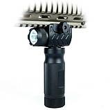 Тактическая передняя рукоятка с фонарем Picatinny/Weaver, фото 6