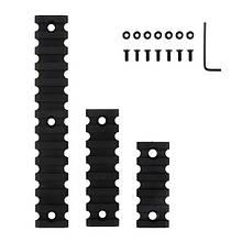 Набор планок Keymod Polymer Picatinny/Weaver TK-109 (3 размера)