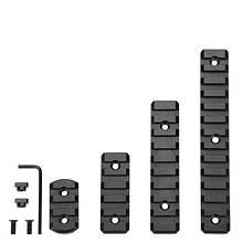 Планка для цевья Castellan M-LOK Picatinny/Weaver (4 размера)
