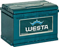 Аккумулятор автомобильный Westa 6CT-74 Аз Premium