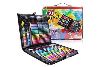 Дитячий художній набір для творчості і малювання у валізці 150 предметів   Набір для художника