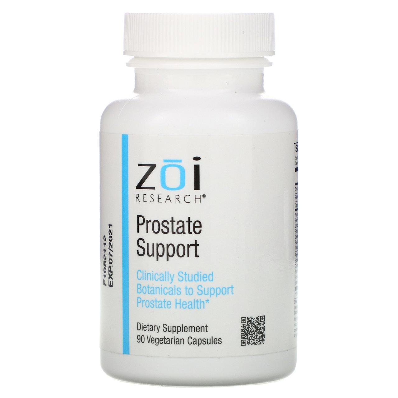 Поддержка здоровья простаты, 90 растительных капсул ZOI Research