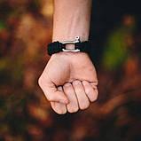 Паракордовый браслет со стальной пряжкой, фото 3