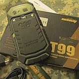 Защищенный телефон RESWAY T99 (IP67), фото 7
