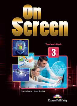 On screen 3 Teacher's Book