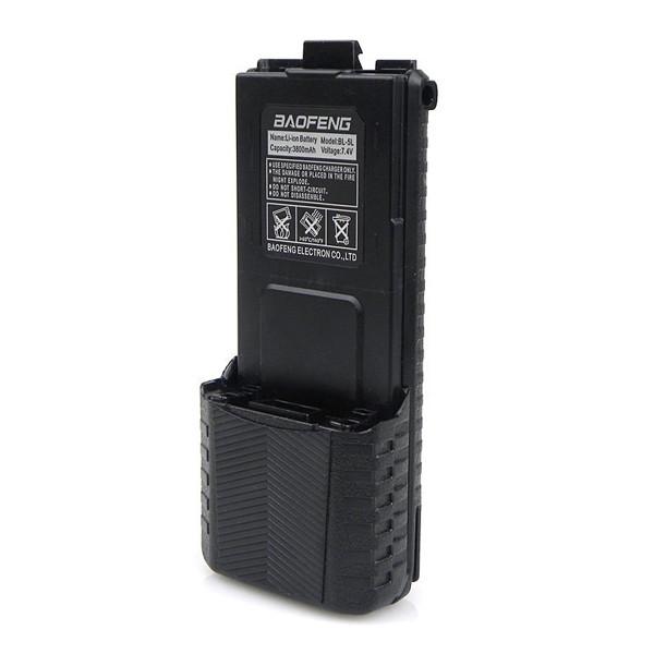 Усиленная аккумуляторная батарея Baofeng BL-5 3800 мАч