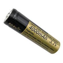 Аккумулятор Boruit тип 18650 4000 мАч 3.7 V