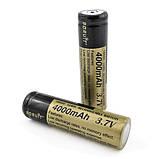 Аккумулятор Boruit тип 18650 4000 мАч 3.7 V, фото 2