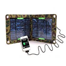 Сонячне зарядний пристрій OEM 7 Вт (2 секції)