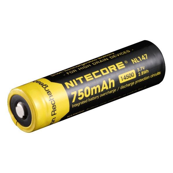 Аккумулятор Nitecore тип 14500 (750 mAh)