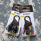 Набор пластиковых карабинов Nite Ize Key Rack, фото 8