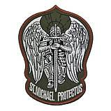 Патч Архангел Михаил Saint Michael Protect Us, фото 2
