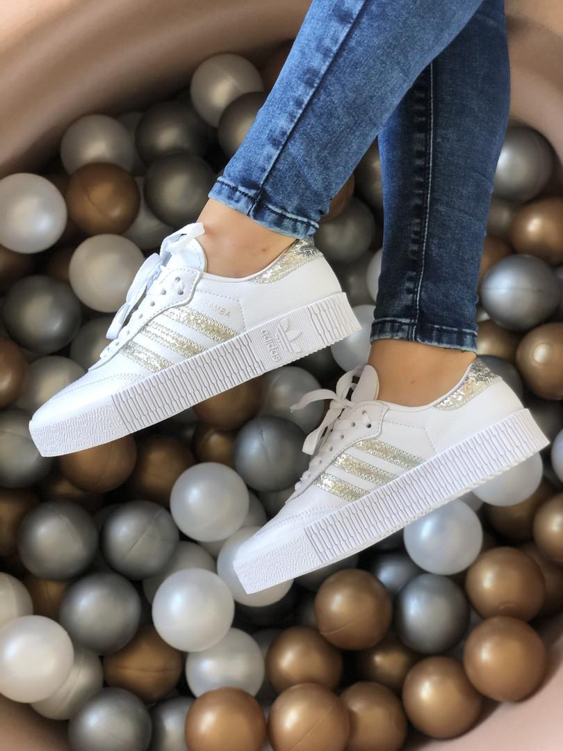 """Кросівки Adidas Samba """"Білі"""""""