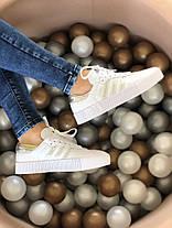 """Кросівки Adidas Samba """"Білі"""", фото 2"""