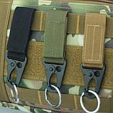 Металлический карабин с креплением на пояс, фото 6