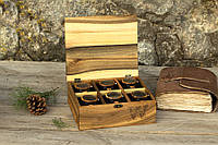 Именная коробочка для часов с деревянной крышкой. Оригинальный подарок любимому парню мужу брату другу боссу