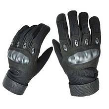 Тактические перчатки с костяшками Oakley (Replica)