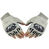 Тактические беспалые перчатки Oakley Factory Pilot (Replica), фото 3