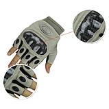 Тактические беспалые перчатки Oakley Factory Pilot (Replica), фото 4