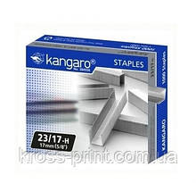 Скобы №23/17 150л 1000шт Kangaro