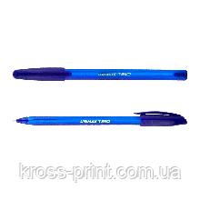 Ручка шариковая Unimax Trio 104-02 синяя 12/120шт/уп 36588
