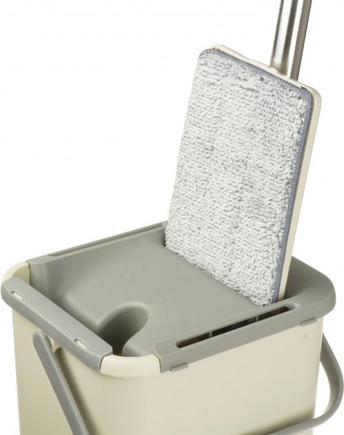 Швабра лентяйка с ведром Supretto Scratch Cleaning Mop