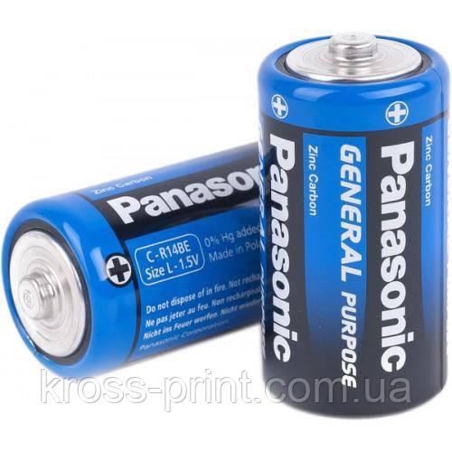 Батарейка R-14 1х2шт Panasonic