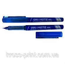 Ручка роллер Deli EQ20230 Mate 0,5мм синяя 77581