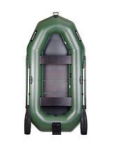 Двухместная надувная гребная лодка Bark В-270N