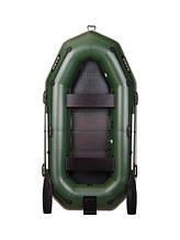 Двомісна гребний надувна лодка Bark В-270NP