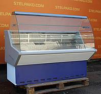 Холодильна вітрина ковбасна «МариХолМаш Нова» 1.5 м. (Росія), відмінний стан, Б/у, фото 1