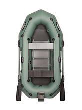 Двухместная надувная гребная лодка Bark В-270NPD