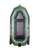 Трехместная надувная гребная лодка Bark В-300N