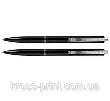 Ручка шариковая автоматическая Sсhneider К15 93081 корпус черный, черная 50шт/уп