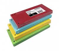 Разделители страниц 105мм х 230мм картонные 100л цветные Donau 8620100