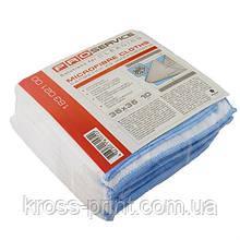 Салфетка микрофибра 35*35см /10шт упаковка/ PRO Эконом универсальная 18302100